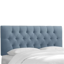 Skyline Tufted Headboard in Ocean-101