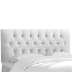 Skyline Tufted Headboard in White-102