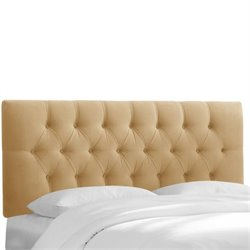 Skyline Tufted Headboard in Honey-104