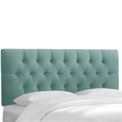 Skyline Tufted Headboard in Caribbean-107