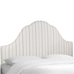 Skyline Arched Headboard in Charcoal-119