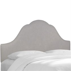 Skyline Arched Headboard in Gray-123