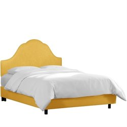 Skyline Arched Bed in French Yellow-129