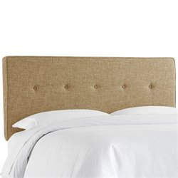 Skyline Five Button Headboard in Zuma Linen-132