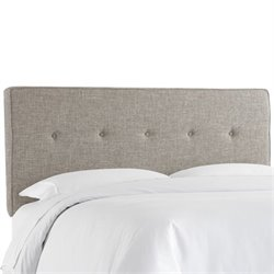 Skyline Five Button Headboard in Feather-133
