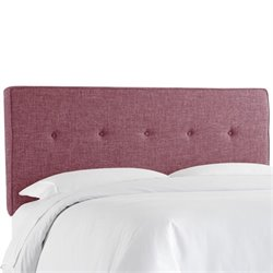 Skyline Five Button Headboard in Amethyst-136