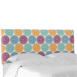 PNMDLMLTOGA Headboard in Pen Medallion Multi