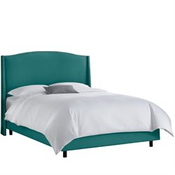 Skyline Furniture Upholstered Bed in Linen Laguna-W