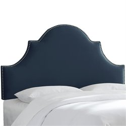 Skyline Furniture Upholstered Panel Headboard in Mystere Eclipse-BB
