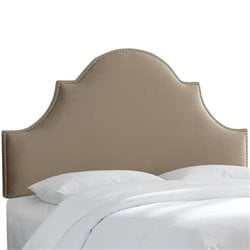 Skyline Furniture Upholstered Panel Headboard in Mystere Mondo-XS