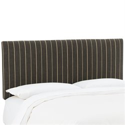 Skyline Furniture Upholstered Panel Headboard in Fritz Peppercorn-US