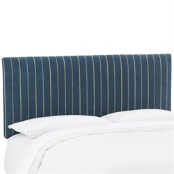 Skyline Furniture Upholstered Panel Headboard in Fritz Indigo-YY