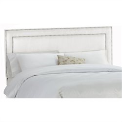Skyline Furniture Panel Headboard in White