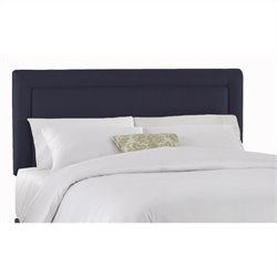 Skyline Furniture Panel Headboard in Navy