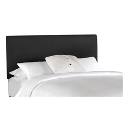 Skyline Furniture Panel Headboard in Black