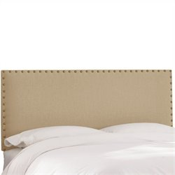 Skyline Furniture Panel Headboard in Beige