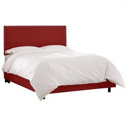 Skyline Furniture Bed in Antique Red