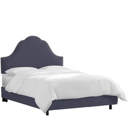 Skyline Arch Bed in Premier Lazuli Blue