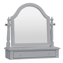 Million Dollar Baby Classic Sullivan Vanity Mirror in Gray
