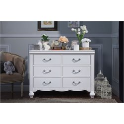 MDB Classic Etienne 6 Drawer Changing Table