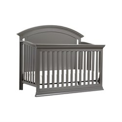 Million Dollar Baby Classic Wembley 4 in 1 Convertible Crib in Gray