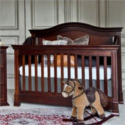 Louis 4-in-1 Convertible Crib with Toddler Rail