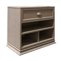 Franklin & Ben Mason Nightstand in Weathered Gray
