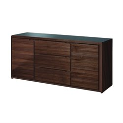 Domitalia Arc Sideboard in Walnut