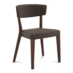 Domitalia Diana Dining Chair in Flirt Brown and Chocolate