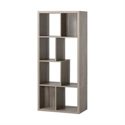 7 Compartment Shelving Bookcase