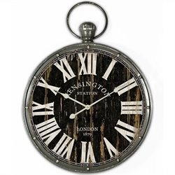 Yosemite Pendant Iron Skip Movement Wall Clock