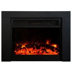 Yosemite Pandora Insert Electric Fireplace in Black
