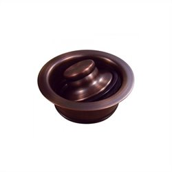 Yosemite Electroplated 3.5 inch Garbage Disposal Stopper in Copper