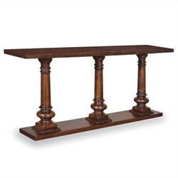 A.R.T. Furniture Whiskey Oak Sofa Table in Warm Barrel Oak