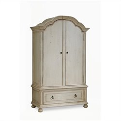 ART Furniture Provenance Wardrobe in Linen