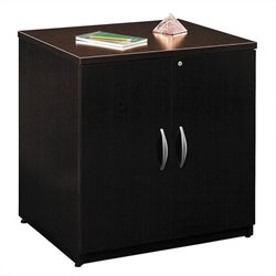 Bush Business Furniture Series C 30W Storage Cabinet in Mocha Cherry