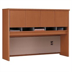 Bush Business Furniture Series C 60W Hutch in Auburn Maple
