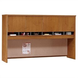 Bush BBF Series C 72W Hutch (4 Door) in Natural Cherry