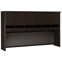Bush Business Furniture Series C 72W Hutch (4 Door) in Mocha Cherry