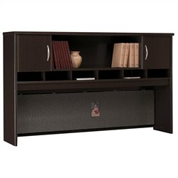 Bush Business Furniture Series C 72W Hutch (2 Door) in Mocha Cherry