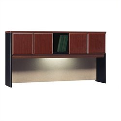 Bush BBF Series A 72W Hutch in Hansen Cherry