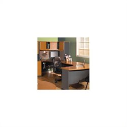 Bush BBF Series A U-Shape Wood Home Office Suite