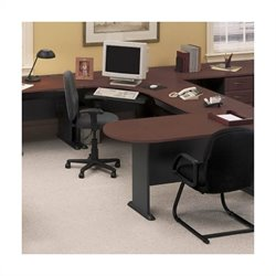 Series A 5-Piece U-Shape Corner Desk with Peninsula