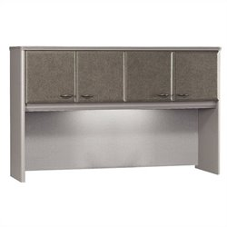 Bush Business Furniture Series A 60W Hutch in Pewter