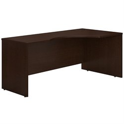 Bush Business Furniture Series C 72W RH Corner Module in Mocha Cherry