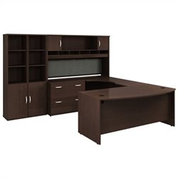 Bush BBF Series C 7-Piece U-Shape Left-Hand Corner Desk