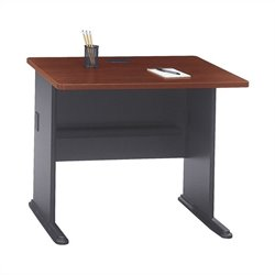 Bush BBF Series A 36W Desk in Hansen Cherry