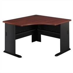 Bush BBF Series A 48W Corner Desk in Hansen Cherry