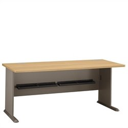 Bush BBF Series A 72W Desk in Light Oak