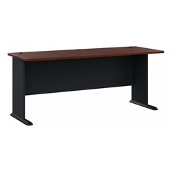 Bush BBF Series A 72W Desk in Hansen Cherry